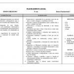 PLANEJAMENTO ANUAL 3° ANO FUNDAMENTAL COMPLETO