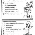 Atividades sobre direitos e deveres da criança