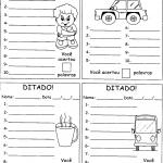 Atividades de ditados e autoditados em sala de aula