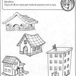 Atividades sobre os tipos de moradias em sala de aula