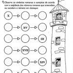 Atividades com sistema de numeração romano