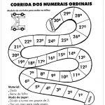 Atividades com numerais ordinais em sala de aula
