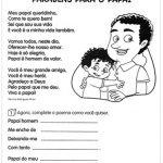Atividades para o Dia dos Pais em sala de aula