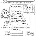 Atividades sobre poemas para crianças