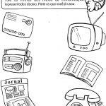 Atividades sobre meios de comunicação para praticar